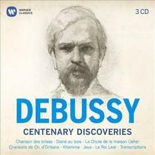 CLAUDE DEBUSSY - DEBUSSY CENTENARY DISCOVERIES (3 CD) NEW CD