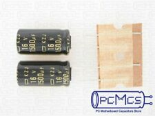 10pcs 1000uF 16V NCC Nippon KY 8x20 Low ESR 16V1000uF PC Motherboard Capacitor