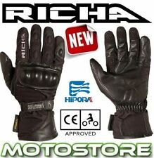 Hipora Exact Women's Leather & Textile All Motorcycle Gloves
