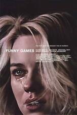 Funny Games Movie POSTER 27 x 40, Naomi Watts, Tim Roth, A, LICENSED NEW