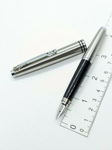 vintage steel Pilot Volex fountain pen - f nib