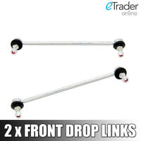 PEUGEOT 207 FRONT ANTI ROLL BAR DROP LINK STABILISER LINKS X2 PAIR NEW ANTIROLL