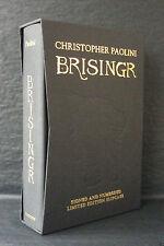 BRISINGR Christopher Paolini SIGNED LIMITED SLIPCASED 1st ED