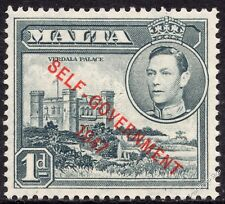 Malta 1953 1d Grey Definitive SG 236a Unmounted Mint