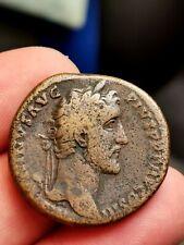 Antonin le Pieux, sesterce Rome 142 ( CONCORDIA EXERCITVM) 22,78 g