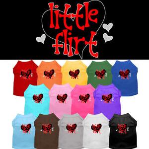 Little Flirt Dog Shirt Pet Clothing Apparel Valentines