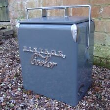 VINTAGE COOLER Coolbox coca cola Coke Retro Cool box GREY wedding present gift