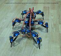 "Six Feet Robot Hexapod Mini ""Spider"" Arduino DIY Robot KIT Old model NO SERVOS"