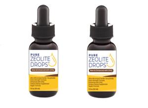 2-PAK Zeolite Drops Enhanced with DHQ (Pure Zeolite Drops™ Liquid Not Powder !