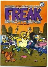 FREAK BROTHERS #2 F, 2nd print, Blue IC. Free Funnies, Rip Off Press Comix 1972