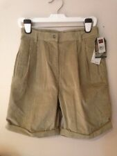 NWT WOMEN WOOLRICH STORE ORIGINAL OUTDOOR CORDUROY TAN SHORTS SZ 10