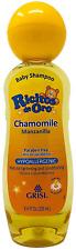 Chamomile Ricitos de Oro Shampoo| Baby Shampoo with Pop-Up Rattle Cap, Paraben