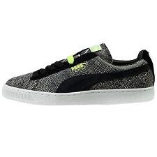 Puma Suede Mis-Match Mens 359407-01 Dark Shadow Black Athletic Shoes Size 12 b9907adb7
