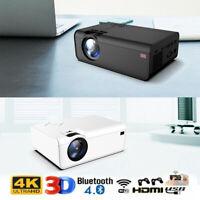 22000 Lumens 1080P HD 3D LCD LED VIDEO PROJECTOR AV/VGA/USB/HDMI Input Projector