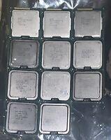 LOT OF 11 Mixed Intel CPU Processors• Pentium 4 / G630 / D950 • E6300 • E8400...