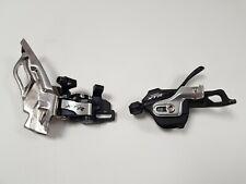 Shimano XTR 10 Speed Shifter SL-M980 andFD-M981Derailleur VG condition