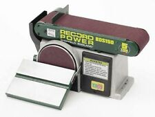 Record Power BDS150 Belt Disc Sander - 6 x 4 inch