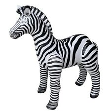 Jet Creations Zebra Inflatable Plush Stuffed Animal. Gifts for Kids, Party De...