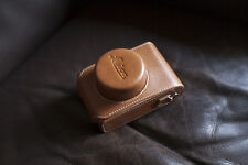 PU Leather Neck Camera case bag Pouch Cover for Leica D-LUX typ109