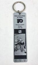 Philadelphia Flyers 1987 - 1988 SEASON TICKET HOLDER Metal Key Fob VIP Keychain