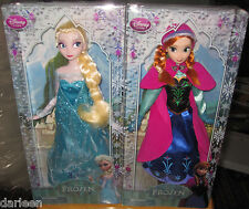 Disney Store Classic collection ANNA & ELSA doll 2013 versions barbie tp FROZEN