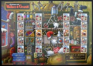 GB SMILERS Xmas with Wallace & Gromit Limited Edition at £15.22 Face Value DH934