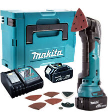 Makita DTM51ZJX7 18V Multi Tool Cutter with 2 x 5.0Ah Batteries Charger & Case