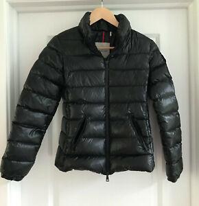 """EUC Black MONCLER """"BADY GIUBBOTTO"""" Down Jacket Size 0 (XS)"""