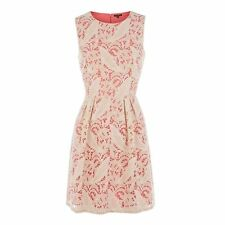 Two Tone Embroidered Lace Dress 16