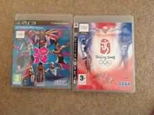 London 2012 & Beijing 2008 Summer Olympics UK PS3 Complete + Instructions VGC