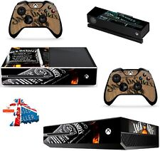 JACK DANIELS XBOX ONE *TEXTURED VINYL ! * PROTECTIVE SKIN DECAL WRAP STICKERS