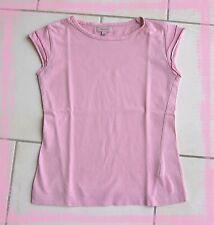 T.shirt TEX KIDS 4 – 5 ans rose clair manches avec petits volants 100% coton