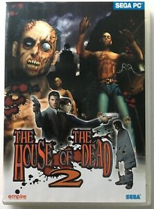 The House Of The Dead 2 1999 SEGA PC CD-Rom Game - New / Unused / Complete