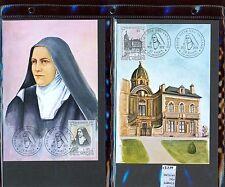 STAMPS 2 CARD MAXIMUN VATICAN CITY POPE (L7276)