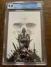 CONAN THE BARBARIAN #1 Zaffino B&W Virgin Variant CGC 9.8 (only 500 made)