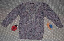 ✿❀ Haut top chemisier chemise mousseline SOIE femme ✿❀ M&G ✿❀ Taille M