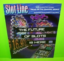 IGT Vintage Video and Reel Game Slot Machine Promo Sales Flyer Casino Multi Page