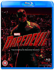 MARVEL'S DAREDEVIL Season 2 [Blu-ray Disc Set] Netflix Series Two w/ Slipcover