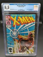 Uncanny X-Men #221 CGC 8.5 (1987) Marvel - 1st App of Mr Sinister