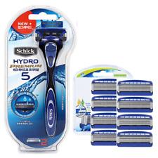 Schick Hydro 5 Premium (NEW IMPROVED) Shaver + 8 refill Cartridges Razor Blades