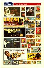 City Classics-HO Scale -- #501-05 – Food Advertising Signs