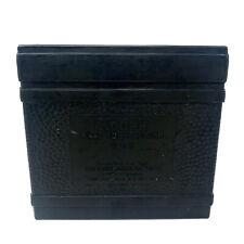 Vtg Kodak Hard Rubber Developing Tank For 4X5 Film Dip Dunk Developing Black