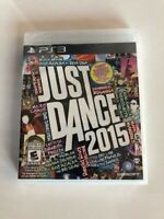 Just Dance 2015 (Sony PlayStation 3, 2014) New Factory Sealed