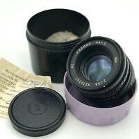 MC HELIOS 44-3 Vintage Lens Zenit NOS Mount M42 F/2 58mm Bokeh Soviet Camera 90s