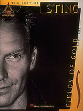 Sting Fields Of Gold Guitar Recorded Versions Tab Book NEW! 50% OFF