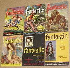 Complete Year~FANTASTIC - SCI-FI DIGEST PULP MAGAZINES~Vintage 1953 MATHESON+