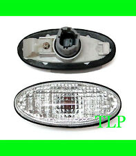CLEAR GUARD SIDE TURN SIGNAL LIGHT INDICATOR FOR NISSAN NAVARA D22 98-04 99 FIT