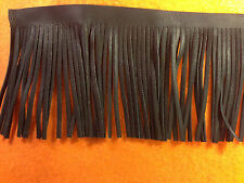 Motorcycle Seat, Saddlebag, Floorboard, Craft, Handbag Black Leather Fringe