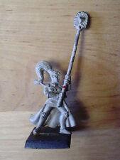 Juegos taller Warhammer Ejercitos Alto Elfo Maiden Guardia abanderado fuera de imprenta