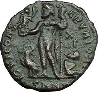 LICINIUS I Constantine I the Great enemy Ancient Roman Coin NUDE JUPITER i34029